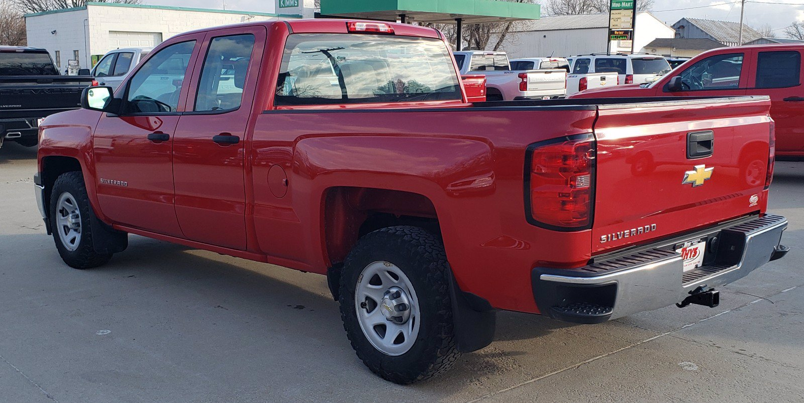 Pre-Owned 2014 Chevrolet Silverado 1500 Work Truck